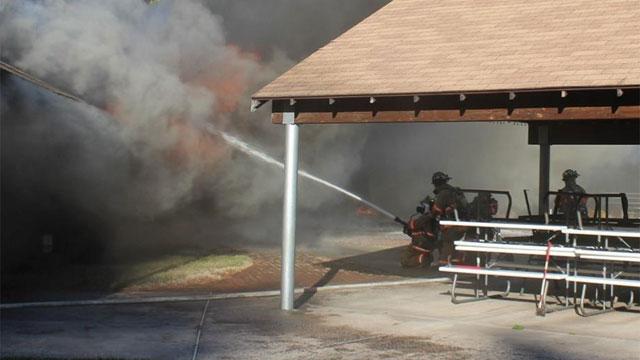 (Wethersfield Volunteer Fire Dept. photo)