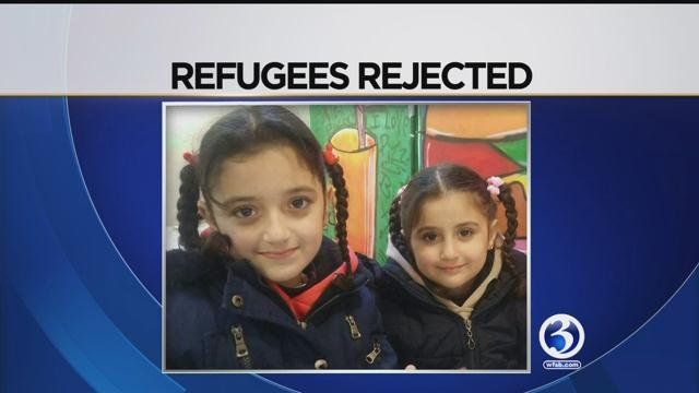 Young girls traveling to visit father in CT caught in travel ban (submitted)