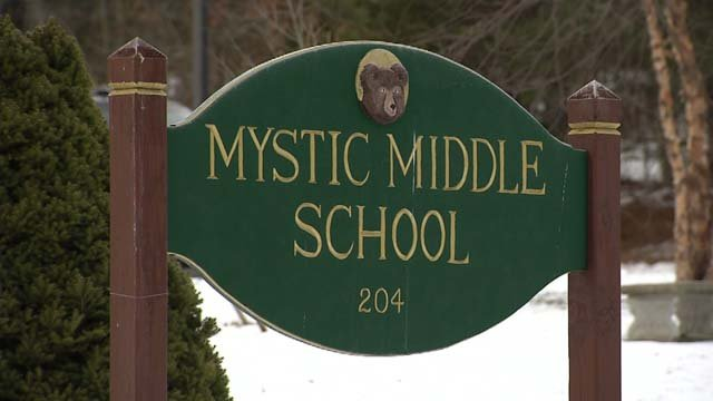 "Animal Farm is no longer an ""anchor"" book at Mystic Middle School. (WFSB)"