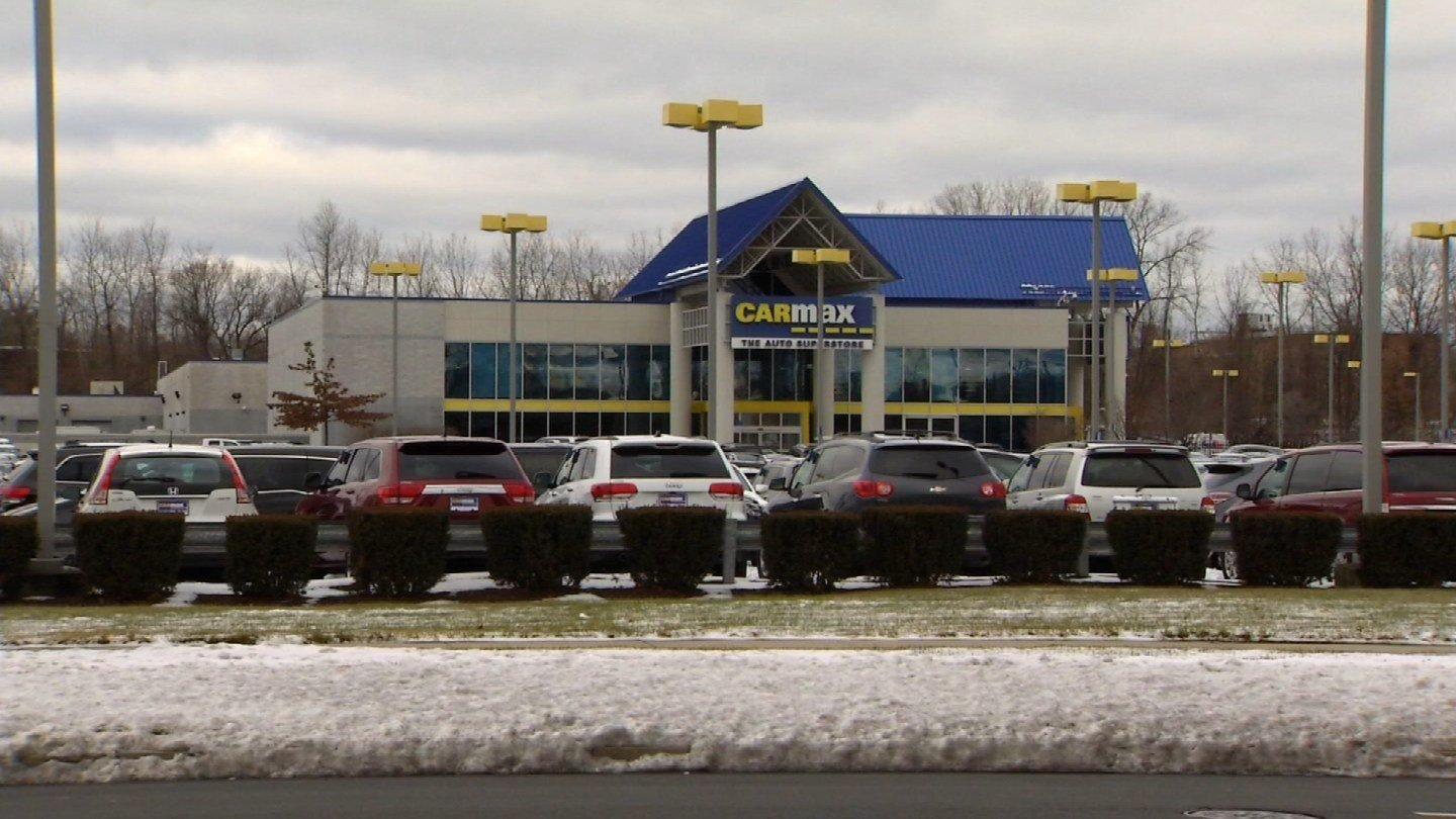 Carmax told a Plainville woman that it couldn't buy her car because of a VIN mixup. (WFSB photo)