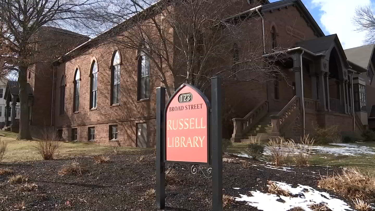 Letter written by CEO of Russell Library has caused controversy in Middletown. (WFSB)
