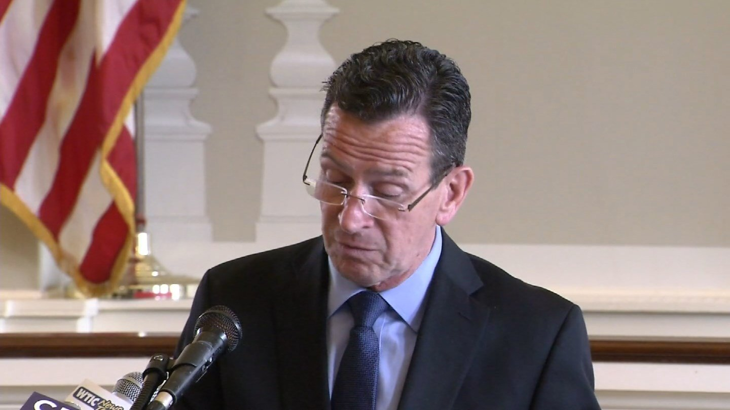 Gov. Dannel Malloy said a plan for creating a municipal accountability system  will be part of his budget. (WFSB)