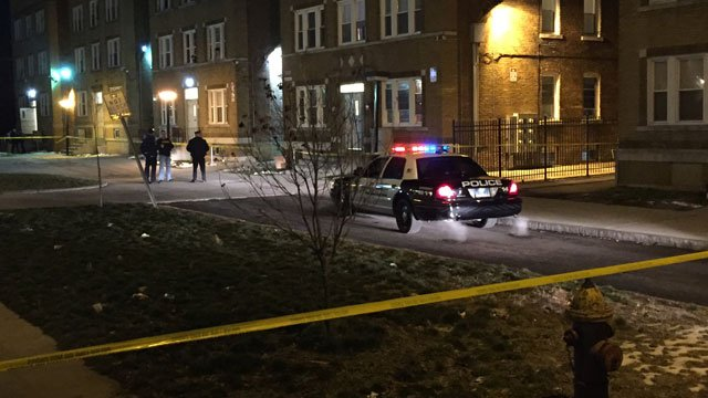 Police are investigating two shootings in Hartford on Thursday night.This shooting was reported on Bedford Street. (WFSB)