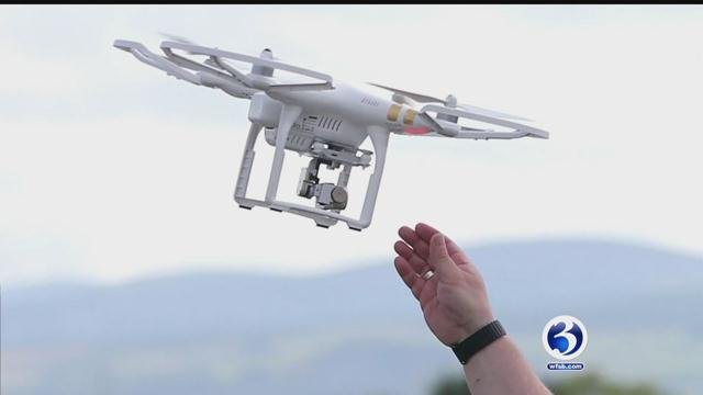 Drones are being used to take selfies now. (WFSB)
