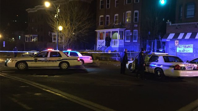 Shooting was reported on Park Street in Hartford. (WFSB)