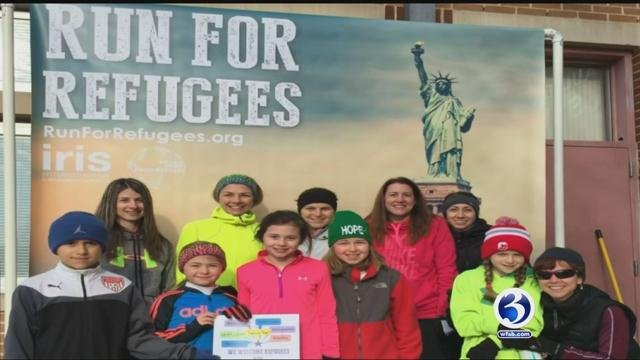 Organizers of a road race that benefits a Connecticut refugee resettlement group are crediting President Donald Trump for a record enrollment.(WFSB file)