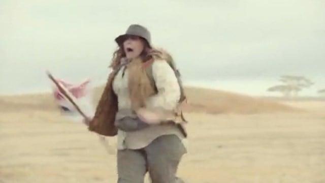 Melissa McCarthy as an environmentalist. (CNN/Kia Motors photo)