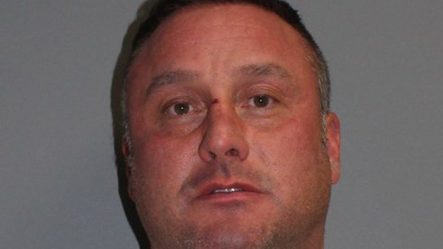 Mark Monroe, a Norwalk firefighter, was arrested for selling cocaine to an undercover officer. (Norwalk police photo)