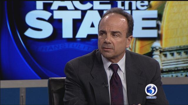 Bridgeport Mayor Joe Ganim appeared on Face the State this week. (WFSB)