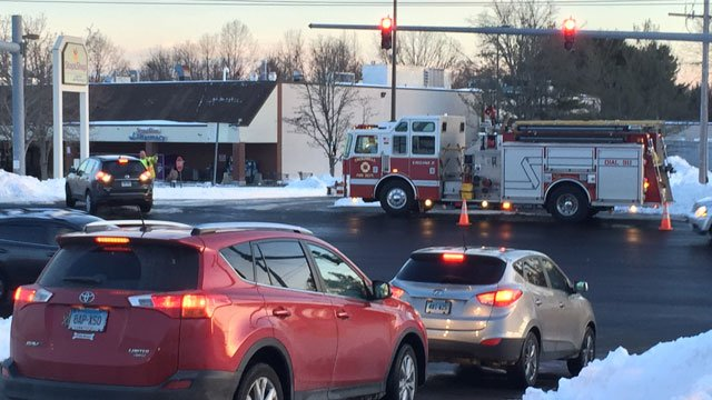 A Stop & Shop in Cromwell was evacuated on Friday afternoon. (WFSB)