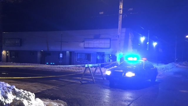 Police responded to a homicide in West Haven on Saturday morning (WFSB)