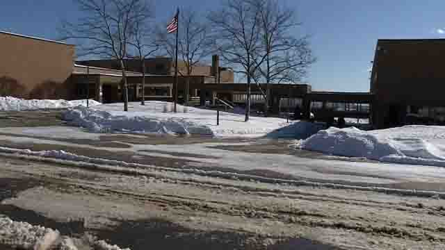Waterbury schools were closed fora third day on Monday due to snow (WFSB)