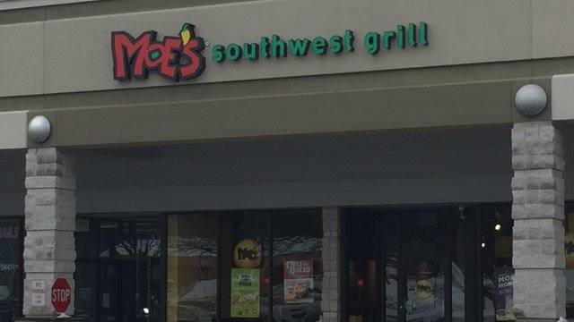 Moe's Southwest Grill in Vernon. (WFSB photo)
