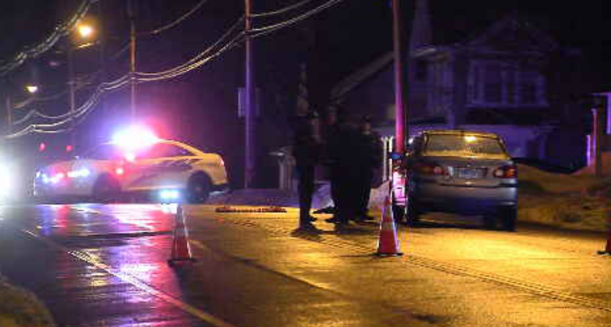 Police are investigating after a man was struck while crossing the road in Wallingford. (WFSB).