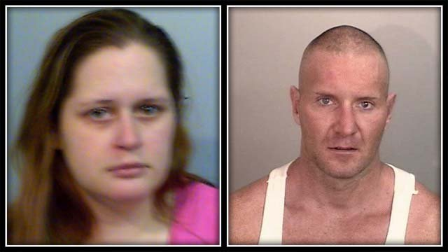 Rachelle Winter and Eric Sheridan have been arrested (CT State Police)