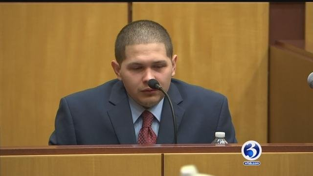 Tony Moreno testified that he didn't intend to harm his son. (WFSB file photo)
