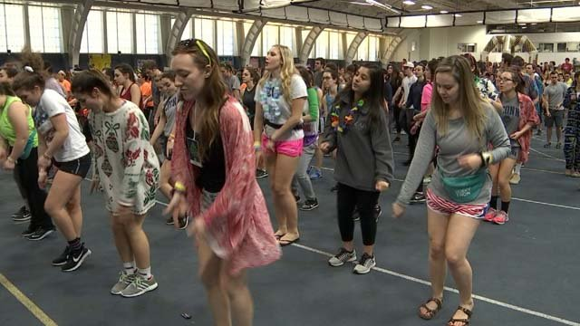 Thousands of students attended this year's Huskython (WFSB)
