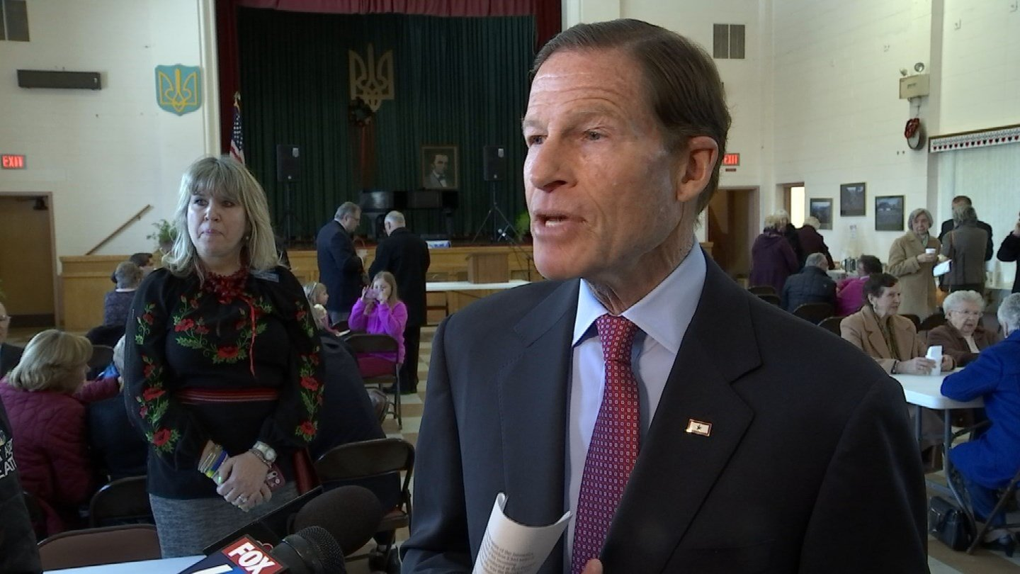 Sen. Richard Blumenthal. (WFSB photo)