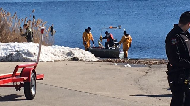 State police said the kayak was recovered by late Monday morning. (WFSB photo)