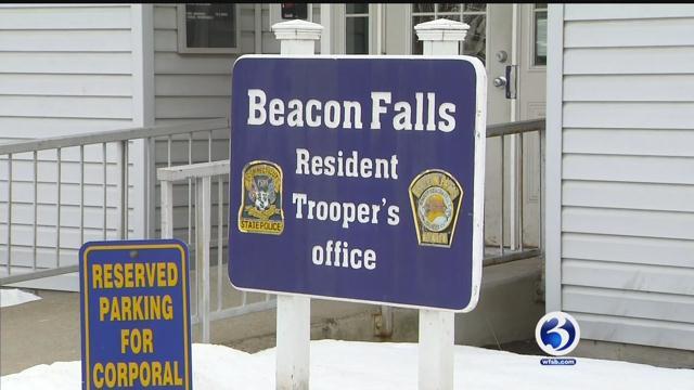 Beacon Falls resident trooper's officer (WFSB)