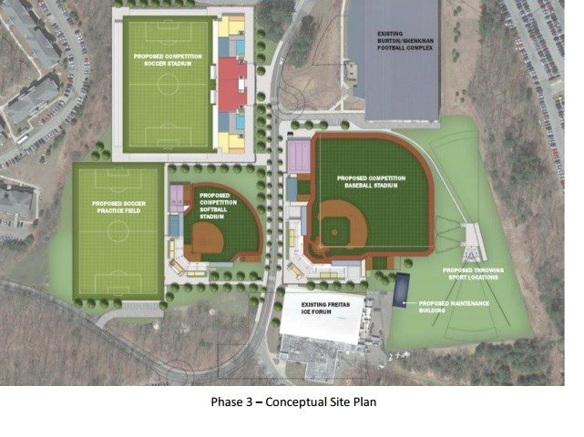 Proposed UConn facilities upgrades (Contributed).