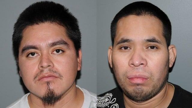 Ignacio Chach-Aperez and Juan Chach. (State police photos)