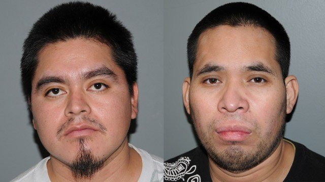 Ignacio Chach-Aperez and Juan Chach. (State police photos)