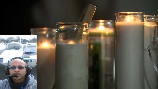 Friends and co-workers gathered to remember Pablo Campos Isona on Wednesday (WFSB/Facebook)
