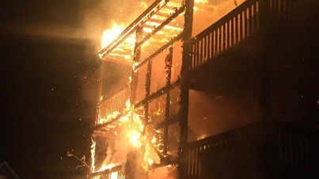 Firefighters responded to an early morning fire Thursday (Contributed).
