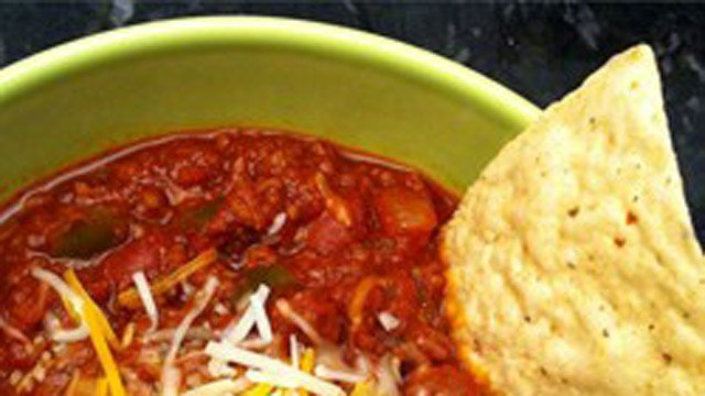 Flatlander Chili. See the recipe on AllRecipes.com. (AllRecipes photo)