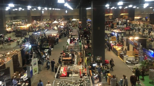 The 36th annual Connecticut Flower & Garden Show started on Thursday at Connecticut Convention Center and runs through Sunday. (WFSB)