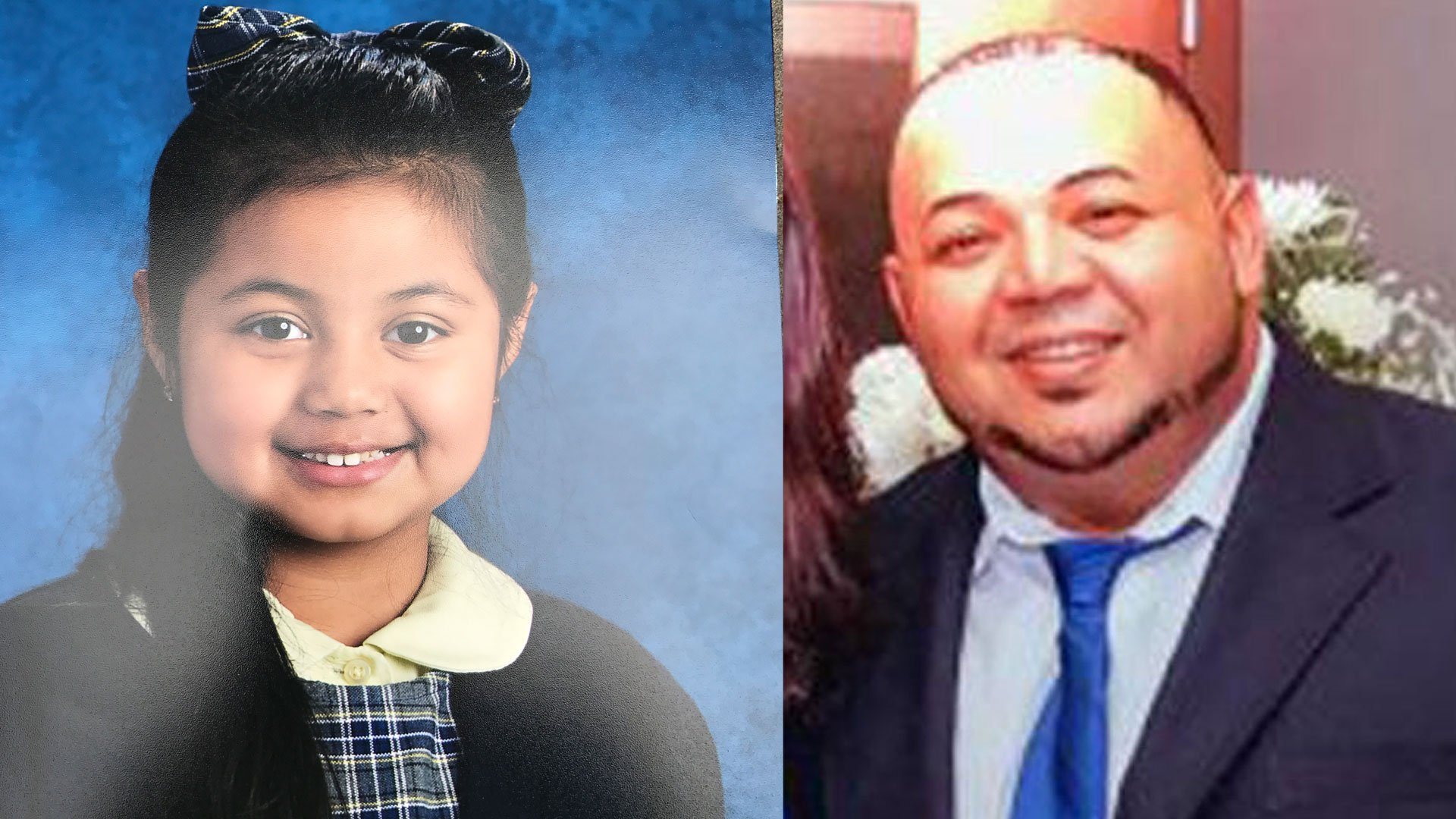 Police found Aylyn Sofia Hernandez and took her father, Oscar Hernandez, into custody. (Bridgeport Police Department)
