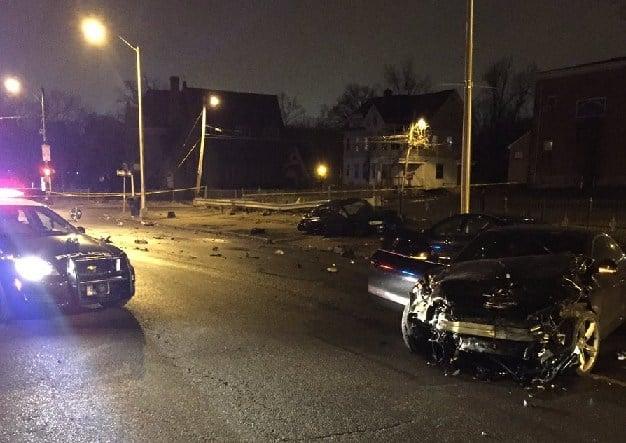 Scene left behind at Main Street and Mahl Avenue in Hartford.  (Hartford Police Dept.)