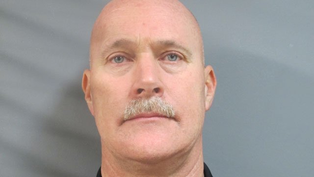Former Cromwell police sergeant, Jonathan Mantel, is accused of accepting workers compensation while not appearing to be hurt. (Connecticut Division of Criminal Justice)