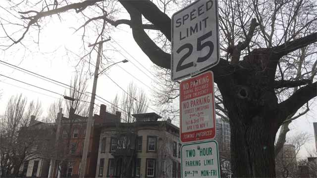 A New Haven leader wants to see lower speed limits in parts of the city (WFSB)