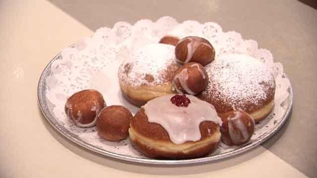 Paczki are a popular Polish dessert on Fat Tuesday (WFSB)