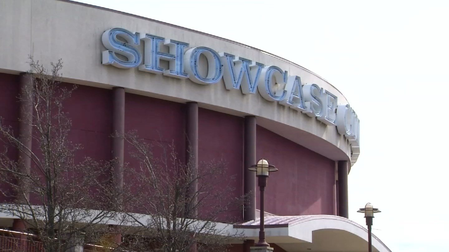 The former Showcase Cinemas in East Windsor has been selected as the site of the state's third casino facility. (WFSB photo)
