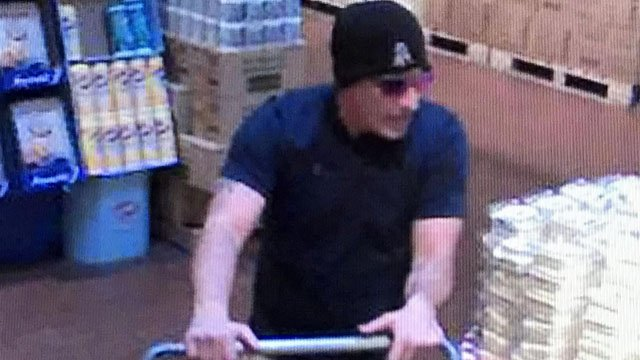 Police in Newington are looking for this man after they said he stole $130 worth of fish from Stew Leonard's in Newington. (Newington police photo)