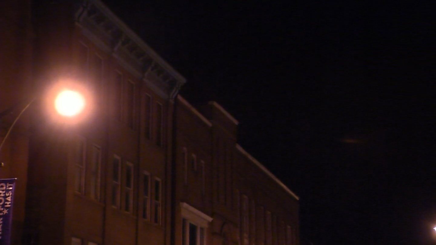 The building was described as being five stories high. (WFSB photo)