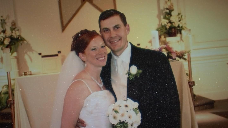 Jim and Elda Marcelynas, on their wedding day. (Courtesy of Elda Marcelynas)