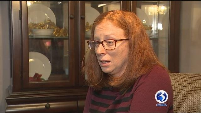 Elda Marcelynas mourns the loss of her husband (WFSB).