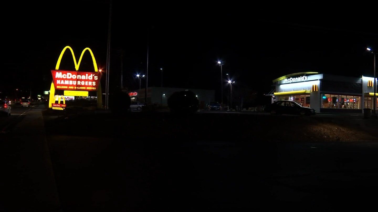 The robbery happened at a McDonald's in Middletown (WFSB)