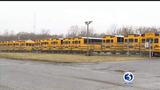 A Plainville student says he felt discriminated against by his school bus driver (WFSB)