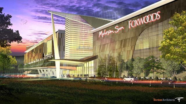 The proposed third casino would be built in East Windsor (Mashantucket Pequot and Mohegan tribes)