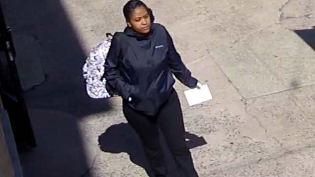 Police are looking to identify this woman (New Haven police)