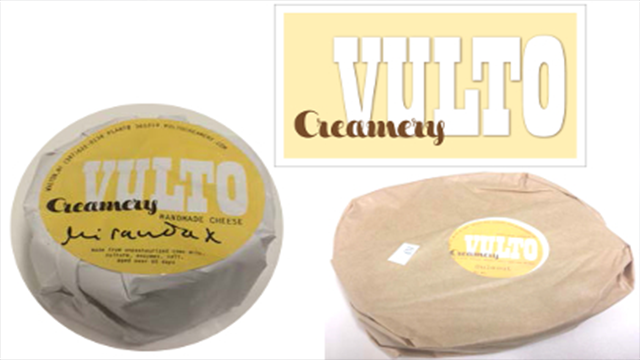 Ouleout cheese from Vulto Creamery of Walton, New York is being recalled after two deaths. (FDA Image)