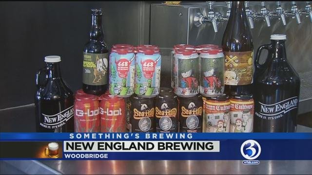 Something's Brewing at New England Brewing Company
