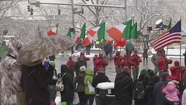 Thousands still expected to attend the Hartford St. Patrick's Day Parade despite bitter cold. (WFSB file photo)