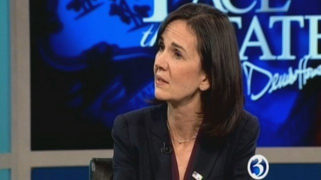 U.S. Attorney Deirdre Daly will  remain as Connecticut US attorney until October. (WFSB file)