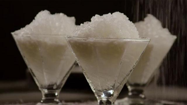 Allrecipes shows us how to make Snow Ice Cream. (Allrecipes)